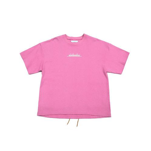MSB Logo t-shirt / PINK