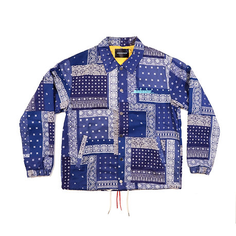 Bandana Coach jacket / Navy