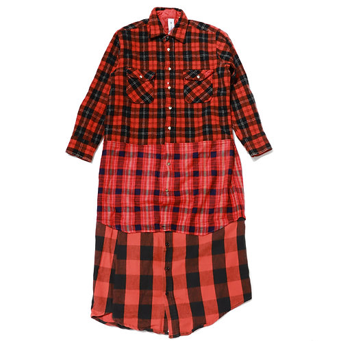 THE Plaid Shirt / Red(M)