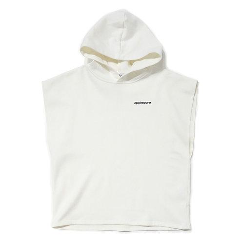 APPLE CORE / Identity sleevless hoodie