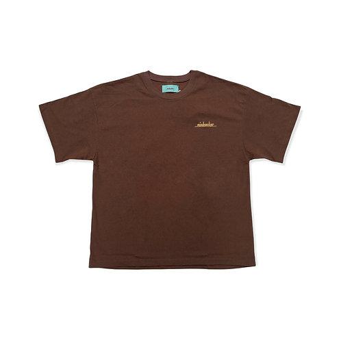 MSB Classic t-shirt / BROWN