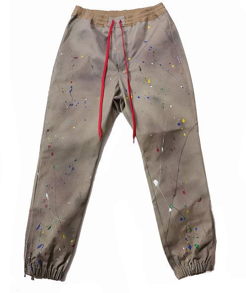 [P]Jogger Work Pants / KHAKI
