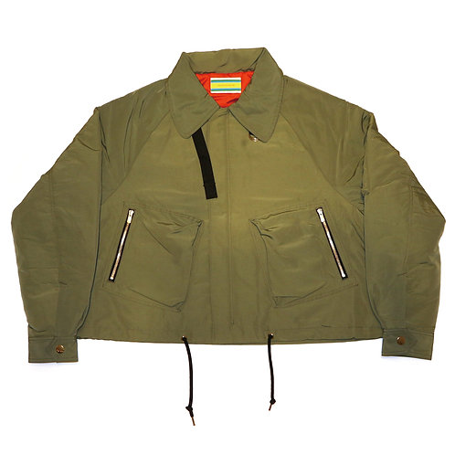 Hooded Short Blouson / Khaki