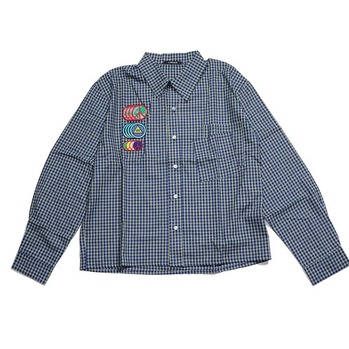 3.PARADIS / DESIRÉE L/S button shirt