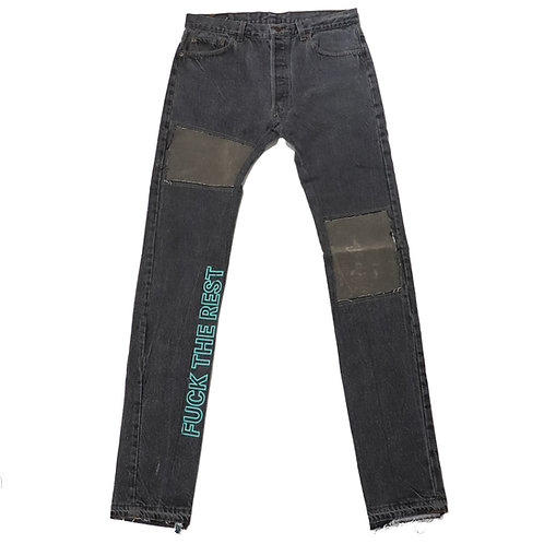 MS Denim pants / BLK