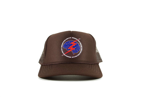 mindseeker × PATRIOT Mesh Cap / Brown