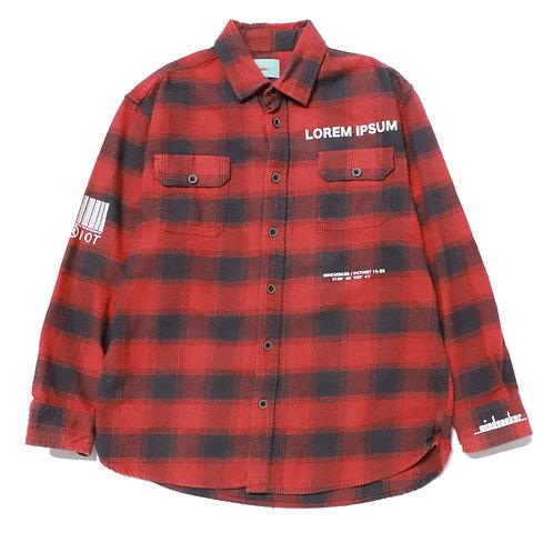 mindseeker × PATRIOT Check Shirt | 01