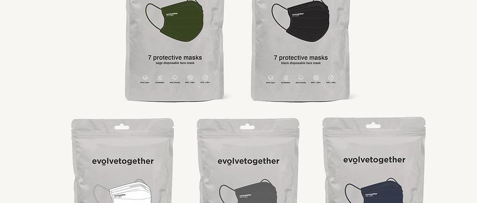 evolvetogether / 7days pack 5Colors set