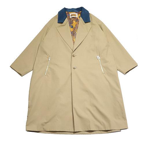 super over fit coat / BEIGE