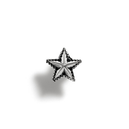 High Point Star Earring