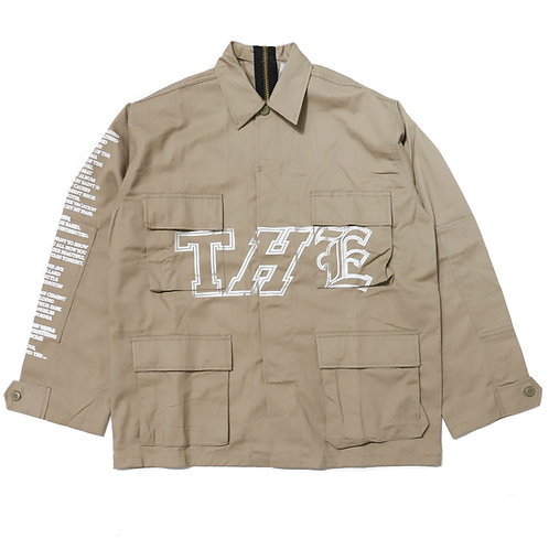 THE Cargo Jacket / Khaki