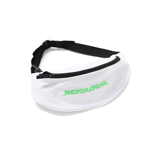 ANDREA CREWS / AC FANNY PACK_WH