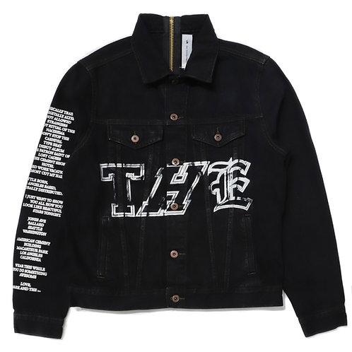 THE Girl Denim Jacket / Black