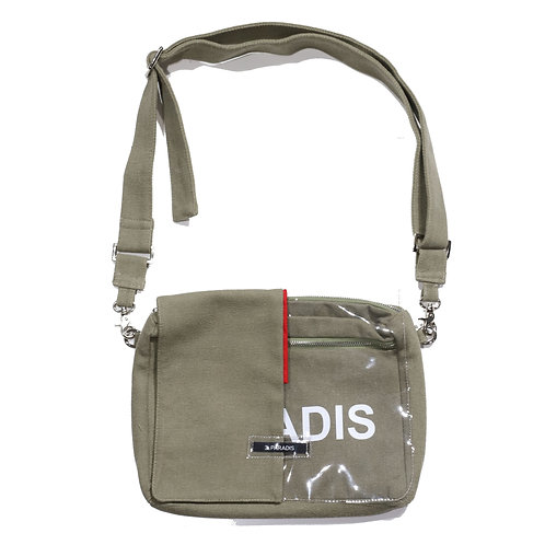 3.PARADIS / MICRO SIDE MESSENGER BAG_KHK