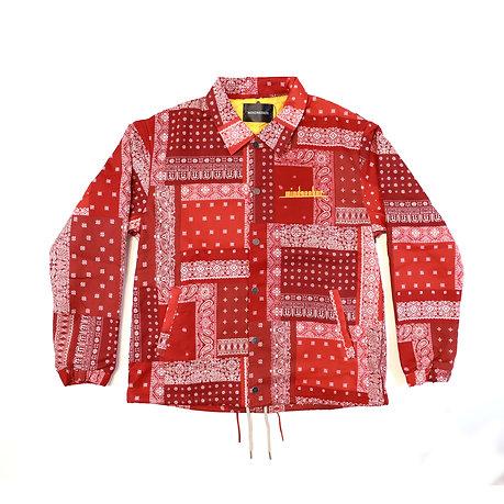 Bandana Coach jacket / Red