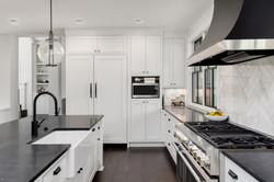 Beautiful Kitchen Interior in New Luxury