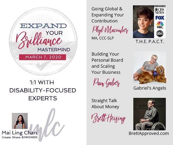 Expand Your Brilliance Mastermind Logo (