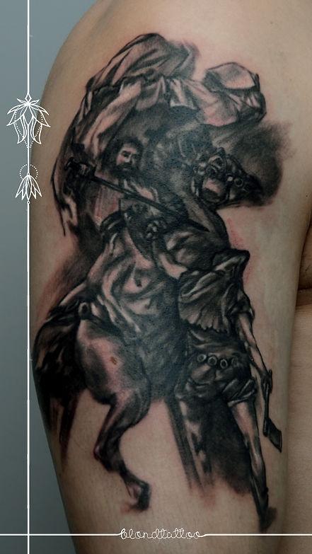 Problem Ze Skórą Przykład Nieprawidłowego Gojenia Się Tatuażu