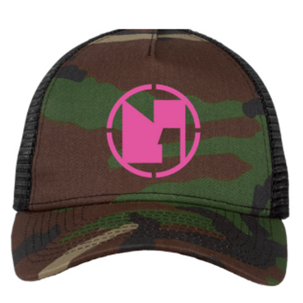 NoetZ 9FORTY 5-Panel Snapback Camo Trucker Cap by New Era