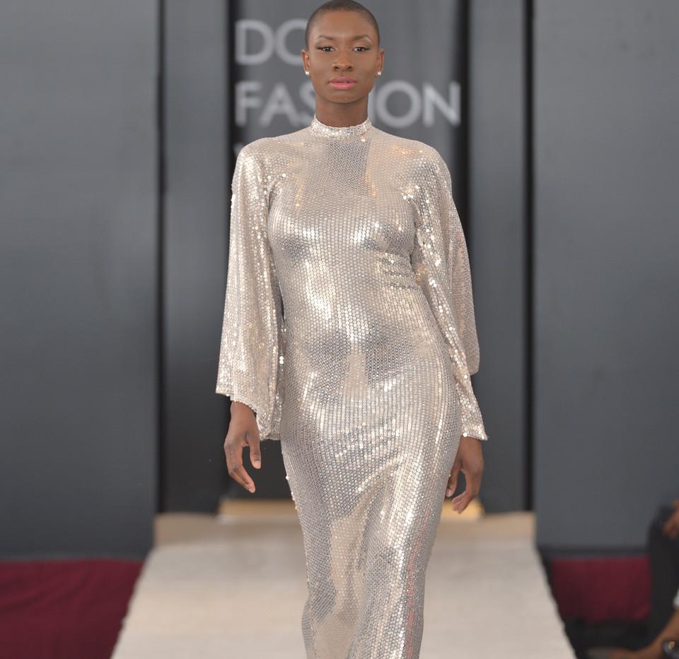 Liquid Gold Gown