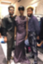 Mason & Mike w_ Trophy Gown