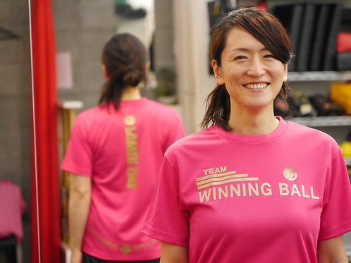 WINNING BALL Tシャツ(金文字)