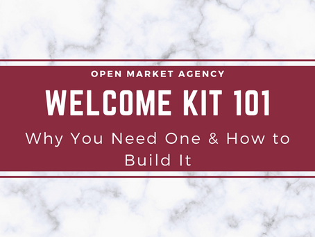 Welcome Kit 101: Why You Need One & How to Built It