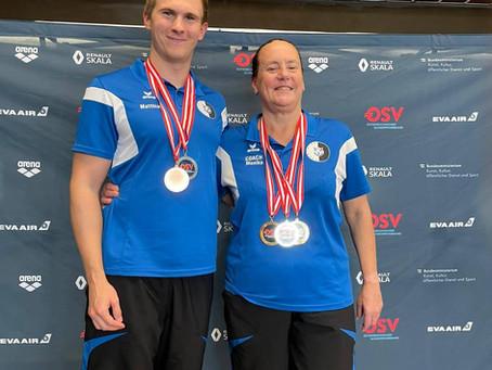 Medaillen bei den Mastersmeisterschaften 2021