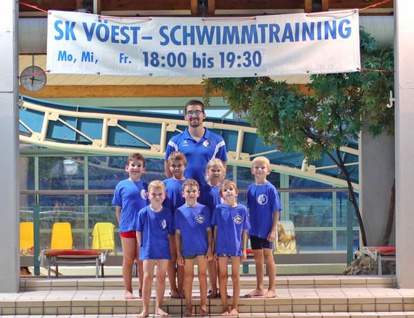 SK VÖEST Linz Schwimmen | Haifischgruppe