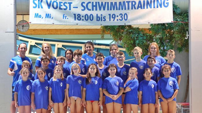 SK VÖEST Linz Schwimmen | Aufbaugruppe