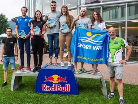 Zweiter Platz beim Fuschlseecrossing 2019 (2,1 km)