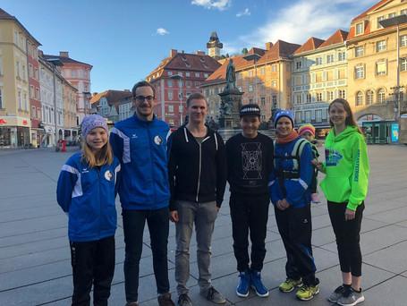 SK VÖEST Schwimmer top bei internationalem Bewerb!