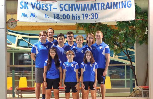 SK VÖEST Linz Schwimmen   A-Kader