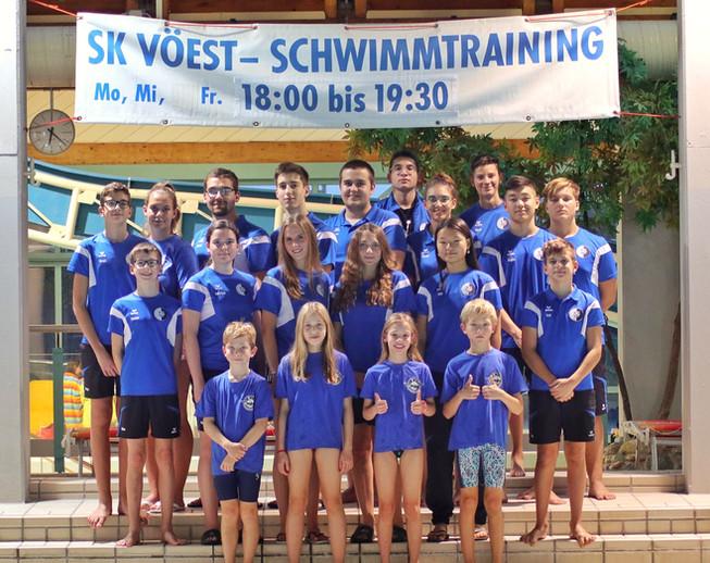 SK VÖEST Linz Schwimmen   B-Kader