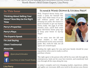 Perry's Paper: August 2020 Edition