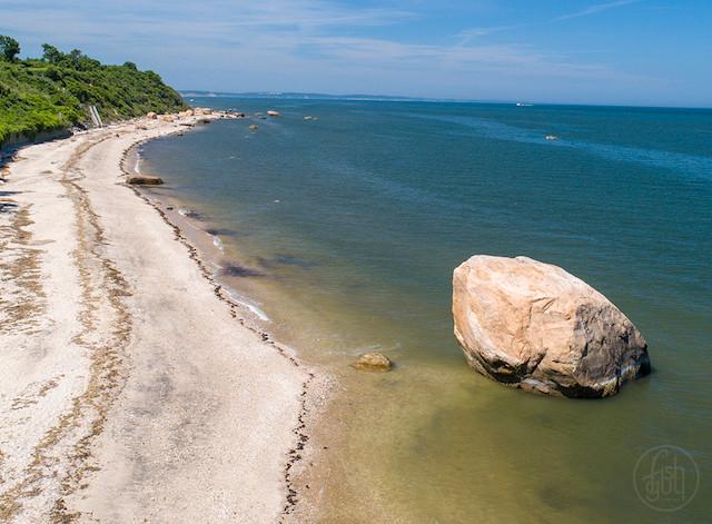The Rocky North Shore Coastline