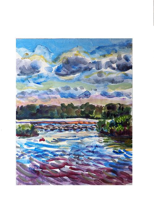 July 1 river