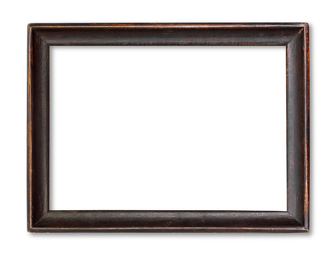 Wooden picture  isolated on white.jpg
