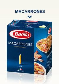 MACARRONES 500G BARILLA