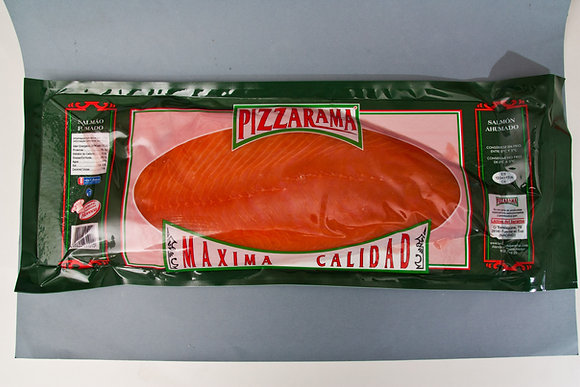 SALMON AHUMADO PLANCHA PIZZARAMA 1,5 KG