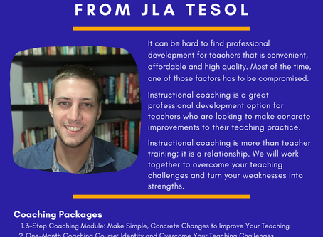 Teach Your Best: Instructional Coaching from JLA