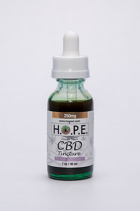 H.O.P.E. Tincture Sweet Orange 250mg