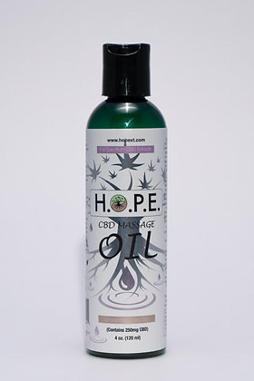 H.O.P.E. Massage Oil Unscented 4oz