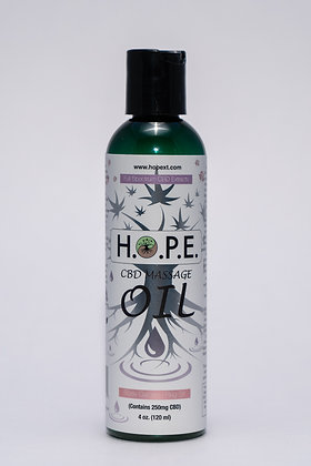 H.O.P.E. Massage Oil Rose Garden 4oz