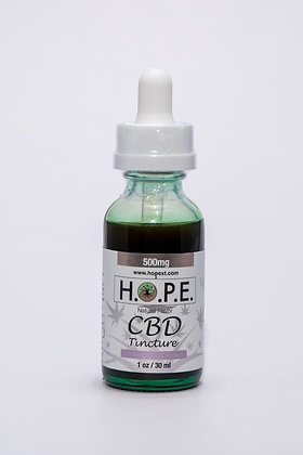 H.O.P.E. Tincture Natural 500mg