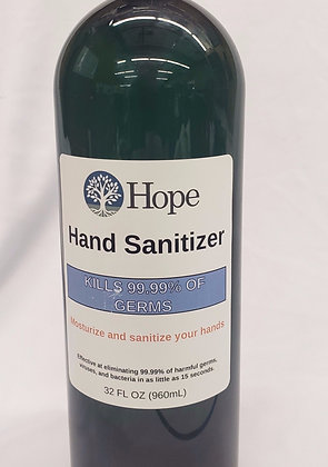 Hand Sanitizer 32oz refill bottle.