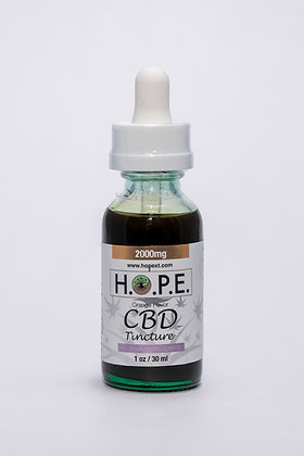 H.O.P.E. Tincture Sweet Orange 2000mg
