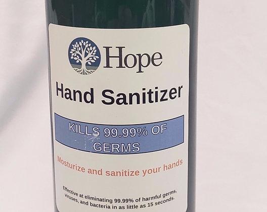 Hand Sanitizer 4oz travel bottle.