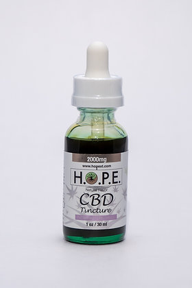 H.O.P.E. Tincture Natural 2000mg