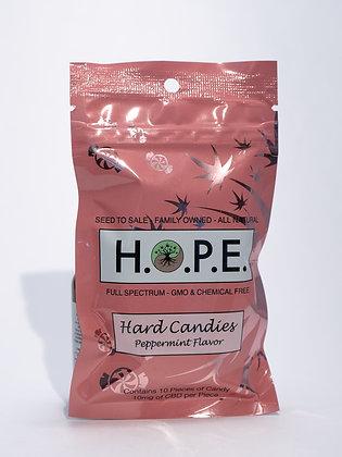H.O.P.E. Peppermint Hard Candy